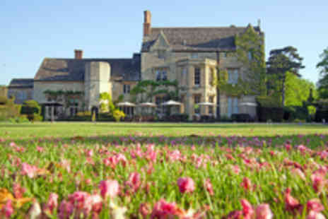 The Manor - Cotswolds Manor Stay with Two Course Dinner - Save 43%
