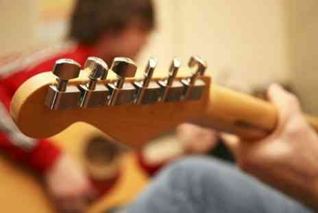 The Guitar Workshop - Five or Ten Private Guitar Lessons - Save 33%