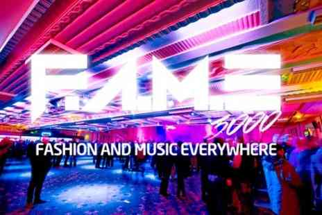 FAME 3000 - Ticket  to Fashion Show and Concert With Special Guest StyloG - Save 44%