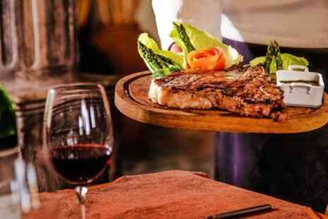 The Waggon and Horses Culham - Sirloin Steak Meal With Wine For Two - Save 44%