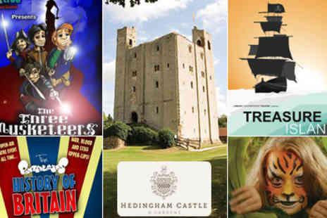 Hedingham Castle - Fantastic Family Theatre in the grounds of Hedingham Castle Tickets include pre show workshops and entry  - Save 54%