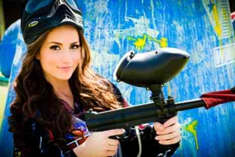 Frontline Paintball - Paintballing for 10 - Save 50%