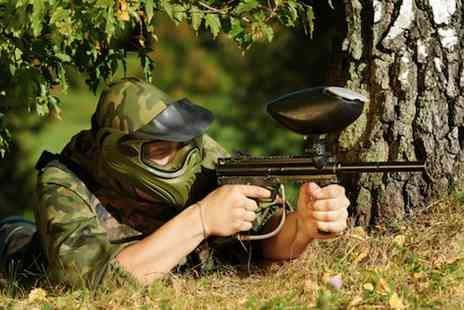 Frontline Paintball - Paintballing for 5 - Save 50%