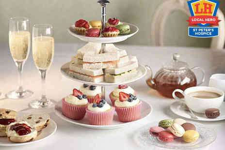 Hilton Bristol - Champagne Afternoon Tea with Access to Health Club Facilities for Two  - Save 55%