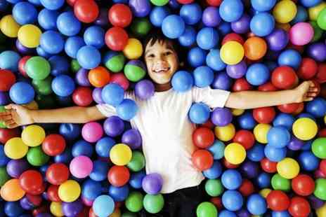 Crazy Club Soft Play - Entry to Crazy Club Soft Play and Meal Plus Two Adults  - Save 53%