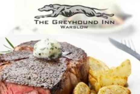 The Greyhound Inn - Country Pub Meal For Two With Coffee - Save 59%