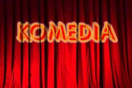 Komedia - Entry to Krater Comedy Club  - Save 50%