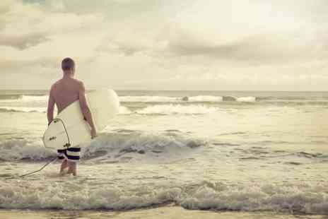 Surf School Wales - Surfing Lesson For One  - Save 50%