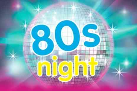 Cambridge Roar 80s Night - Ticket to 80s Night   - Save 50%