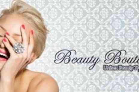Beauty Boutique - Shellac Manicure Plus Pedicure and Glass of Bubbly - Save 65%
