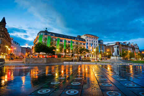 OMGhotels - One night Manchester city centre stay for 2 including breakfast - Save 36%