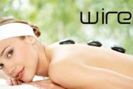 Wired Hair & Beauty - Hot Stone Massage With Indian Head Massage - Save 60%