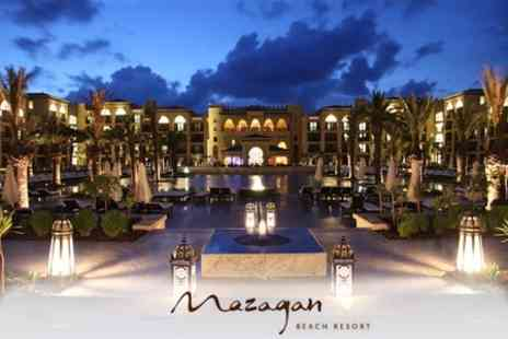 Mazagan Beach Resort - Moroccan Getaway Four Nights, With Breakfast at the 5* - Save 62%