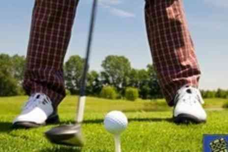 Caerphilly Golf Club - Three 45 Minute Golf Lessons - Save 67%