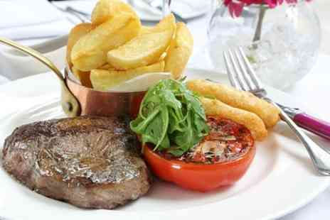 Marco Pierre White Steakhouse Bar & Grill - £40 Towards Food For Two - Save 38%