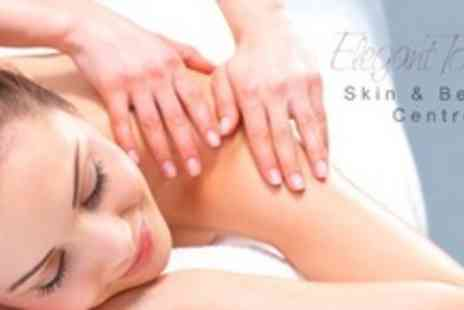 Elegant Touch - Full Body Massage and Choice of Dermalogica Facial or Shellac Manicure - Save 66%