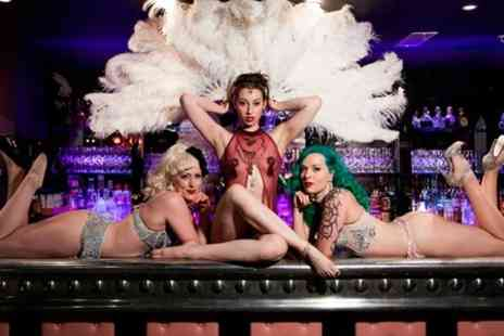 Proud Cabaret City - Three Course Dinner Prosecco and Burlesque  - Save 63%