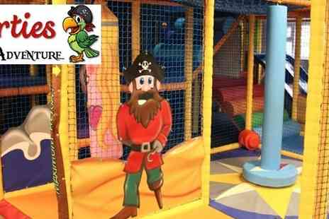 Shorties Pirate Adventure - Entry to Shorties Pirate Adventure Softplay Centre - Save 50%