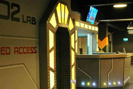 Laser Quest - Three Games of Laser Quest for up to six - Save 54%