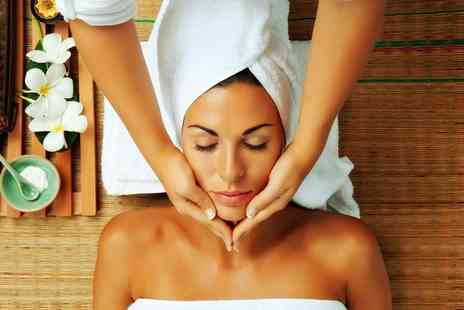 Gilroys - 90 min pamper package including choice of massage choice of facial manicure & wine - Save 78%