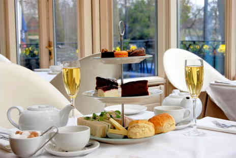 Corus Hotel Hyde Park - Afternoon tea for two people including a glass of Champagne  - Save 68%