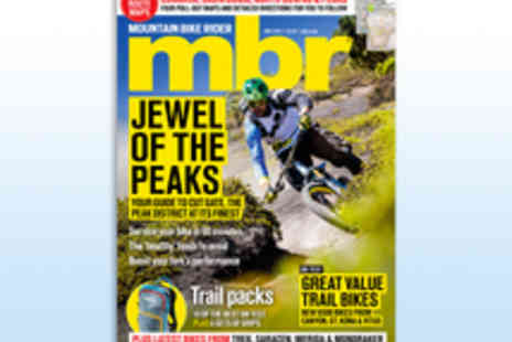 IPC Media - 12 Month Subscription to Mountain Bike Rider Magazine - Save 22%