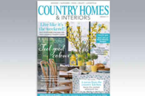 IPC Media - 12 Month Subscription to Country Homes & Interiors Magazine - Save 11%