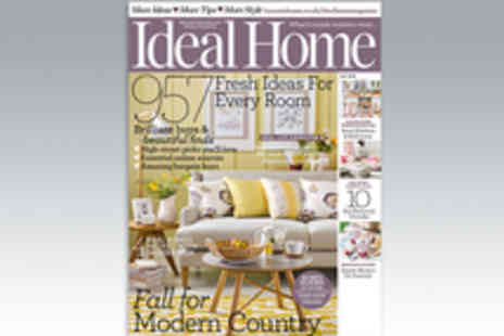 IPC Media - 12 Month Subscription to Ideal Home Magazine - Save 4%