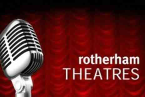 Rotherham Civic Theatre - Comedy Night Tickets With Wine For Two - Save 71%
