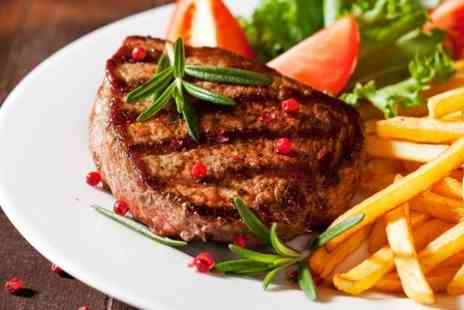 Veritas - Steak Meal and Wine For Two - Save 54%