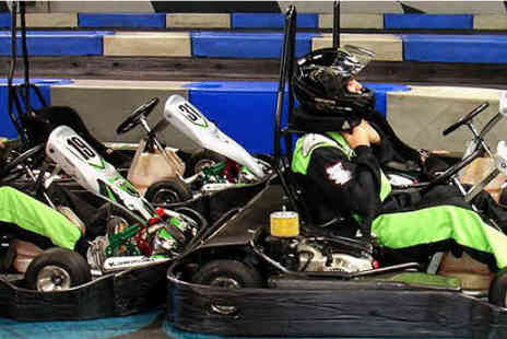 Indoor Super Karting - Grand Prix for up to ten - Save 50%