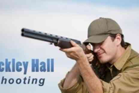 Mickley Hall Shooting School - Two Hour Clay Pigeon Shooting Experience For One - Save 65%