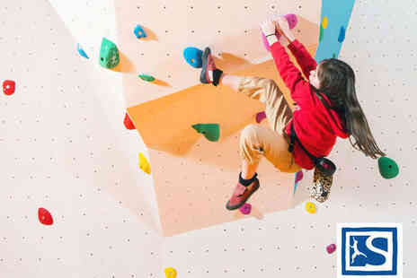 Sunderland Climbing Centre - Kids Club Climbing Session for Two Children - Save 57%