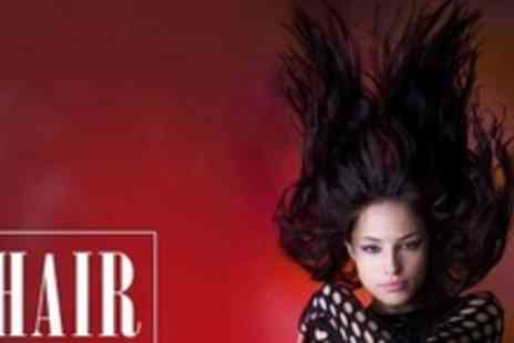 Hair by Sam Logan - Full Head of Colour or Half Head of Foils With Restyle, Schwarzkopf Hair Mask - Save 68%