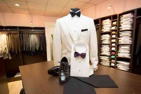 Quentin Bond - Suit Hire Package For Four  - Save 60%