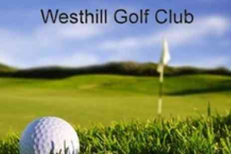 Westhill Golf Club - Round of Golf For Two - Save 72%