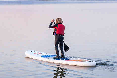 Portsmouth watersports centre - Paddle boarding course - Save 43%