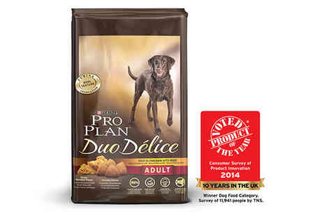 petshopbowl - 10kg Pro Plan Duo Delice Dog Food - Save 46%