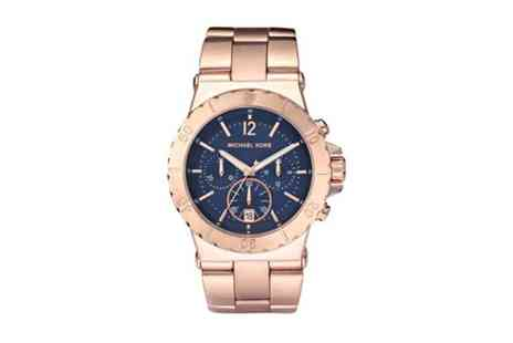 Stagwatches - Michael Kors Bel Air Rose Gold Chronograph Unisex Watch - Save 49%