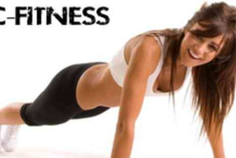 DC Fitness - 1 month unlimited boot camp fitness pass - Save 90%