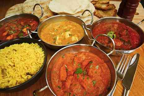 Food Emporium - Indian banquet delivery for 2  - Save 43%