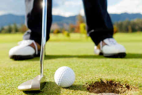 Parley Golf Centre - 18 Holes of Golf for One Adult and One Child - Save 52%