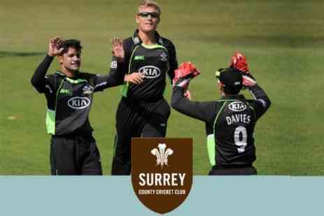 Surrey County Cricket Club - T20 Cricket Tickets For Two Adults to See Surrey v Gloucestershire at 6.30pm 2 June 2011 - Save 63%