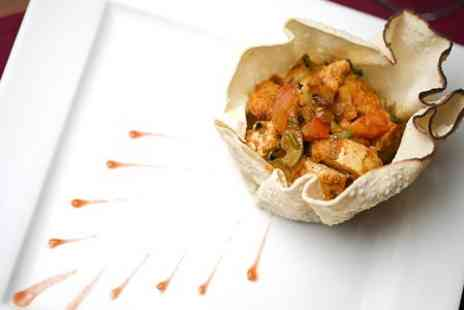 Safa Fine Indian Cuisine - Indian Meal With Sides and Drink For Two - Save 50%