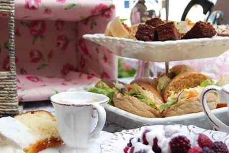 The Colliston Inn - Afternoon Tea With Pimms For Two  - Save 50%