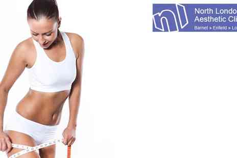 North London Aesthetic Clinic - Cryogenic Lipolysis On two Areas - Save 60%