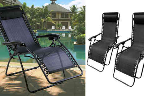 Tooltime - Weatherproof Deck Chair - Save 66%