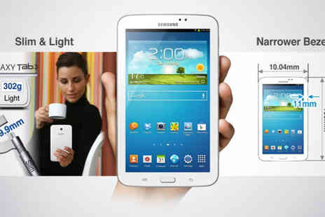 T.L.X Electrical Ltd - Samsung Galaxy Tab 3 Android 4.1 Tablet - Save 67%