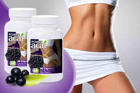 Zahiki - Two month* supply of acai capsules - Save 77%