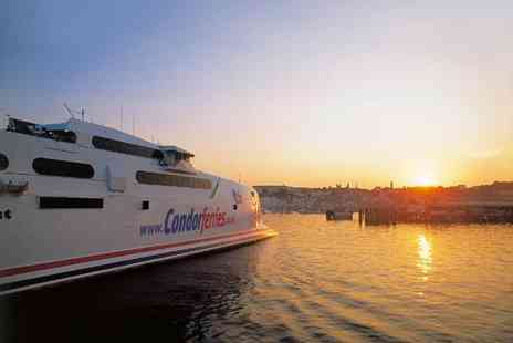 Condor Ferries - Childrens day return ticket to Guernsey  - Save 50%